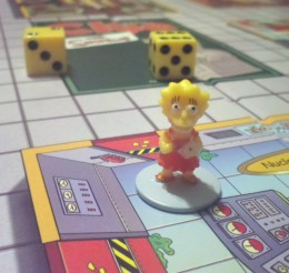 Is it fitting I play Lisa in The Simpson's Clue board game?