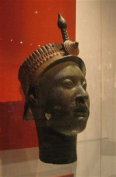 Ife bronze casting of a King, dated around 12th Century