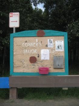 Conner's Bog Entrance