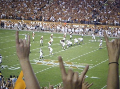 Attending Football Game at UT-Austin