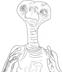 Aliens Coloring Pages Free Colouring Pictures to Print