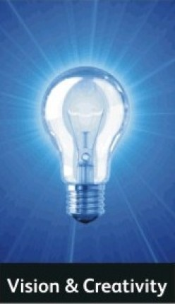 Why we show a lighting bulb as a sign for creativity and innovation?