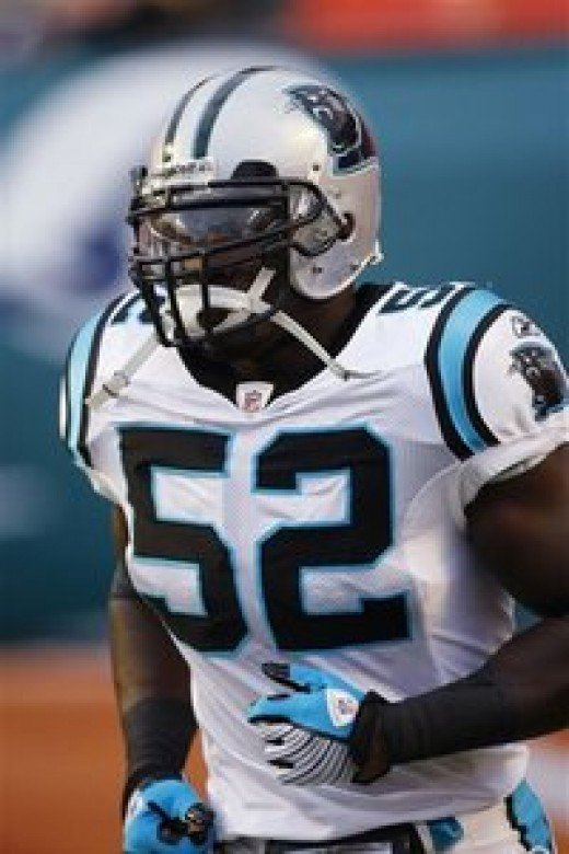LB Jon Beason has been one of the few bright spots on the Panthers