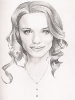 "Supposedly Rachel McAdams from ""The Notebook"""