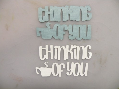 Thinking of You shapes