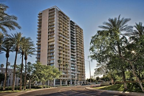 When designed in 1964, the 21-story Executive Towers was the tallest in Phoenix.