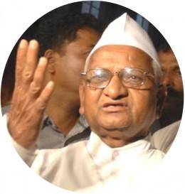 Anna Hazare : A Civil Activist, an Icon Against Corruption in India