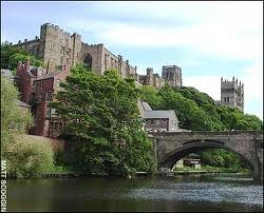 Durham Castle from the River Wear
