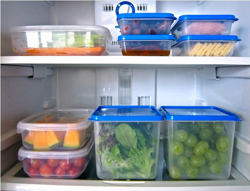 Storing your healthy food in a visually appealing way can make you want to eat healthy more often.