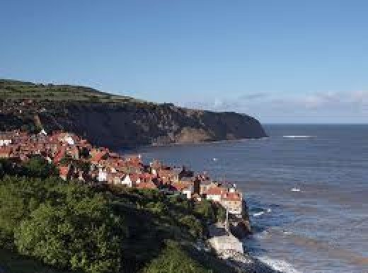 Bay Town, Robin Hood's Bay - named Bramblewick in popular literature by Leo Walmsley