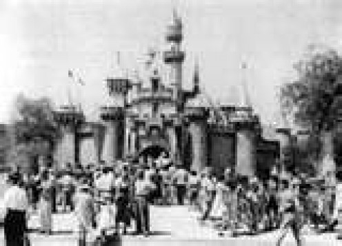 Disneyland Opening Day - July 17, 1955