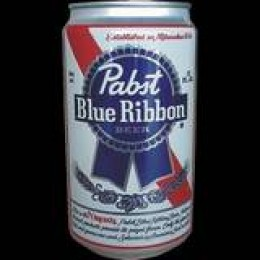 And we couldn't forget Pabst Blue Ribbon to bring to our backwoods blow-out, could we?