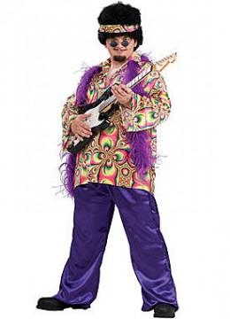 Adult Plus Purple Daze Costume
