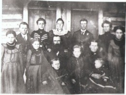 My 3xgreat grandparents and their children.