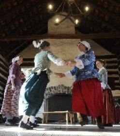 Re-Enactors: Amity Colonial Dancers