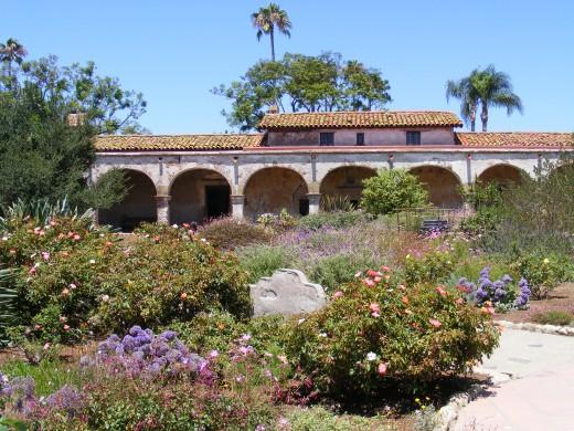 San Juan Capistrano Mission.