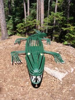 Rebar alligator.
