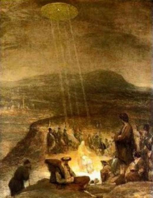 John The Baptist And Jesus 1710 by Aert De Gelder