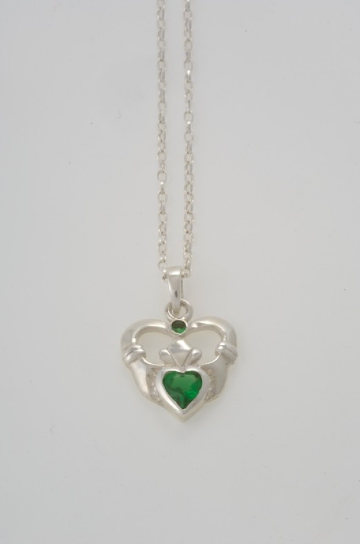 On of many Variations of the Claddagh design