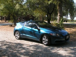 2011 Honda CR-Z: 2-Seat Gasoline Electric Hybrid Sport Coupe