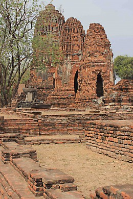 Historic Sites and Architecture around the World 16th Century Ayutthaya, old capital of Thailand