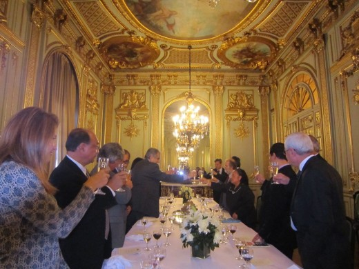 Toast at a delegation luncheon at the Palacio San Martin in Buenos Aires
