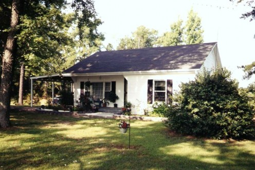 The old homeplace where I spent my childhood.