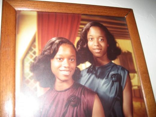 Young Tanya and Tina