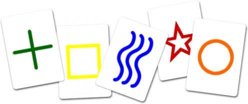 Zener (aka ESP) Cards created by Karl Zener, professor at Duke University and colleague of J.B. Rhine