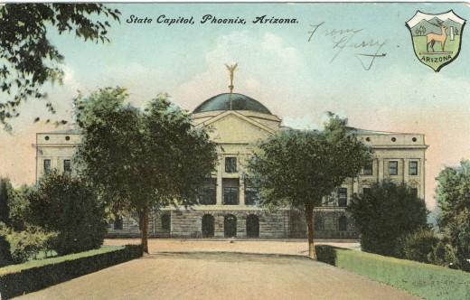 Arizona Territorial Capitol Circa 1905