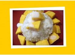 Sticky Rice With Mango - Thai Dessert Recipe with Pictures