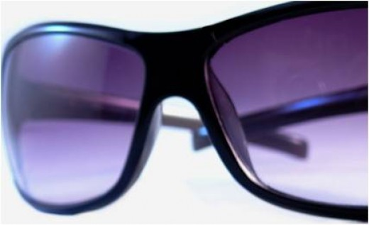 Ugly Sunglasses -  Protection from the Sun Following Laser Eye Surgery.  Get your own designer sunglasses in a few days!