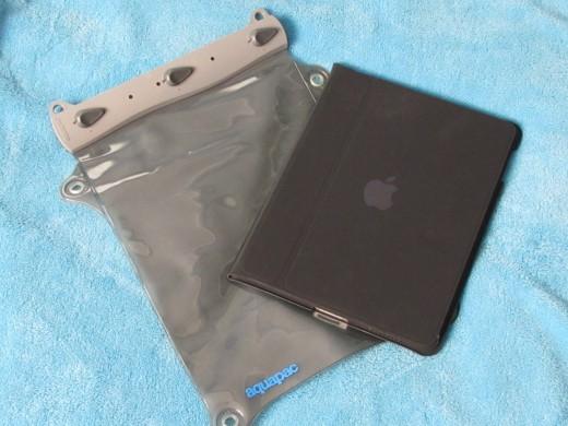 My iPad in it's Apple case