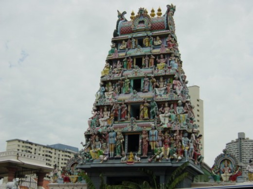 Temple Street, Singapore