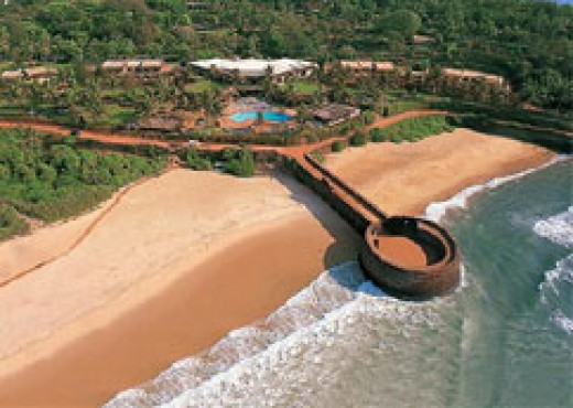 Fort Aguada  and the Beach Resort