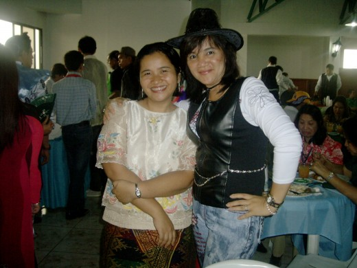 A Filipina with an American Cowgirl