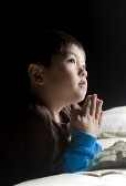 even a child can learn how to pray.