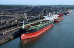 Coal + shipment