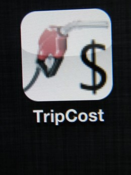 Estimate your fuel costs quickly with Trip Cost