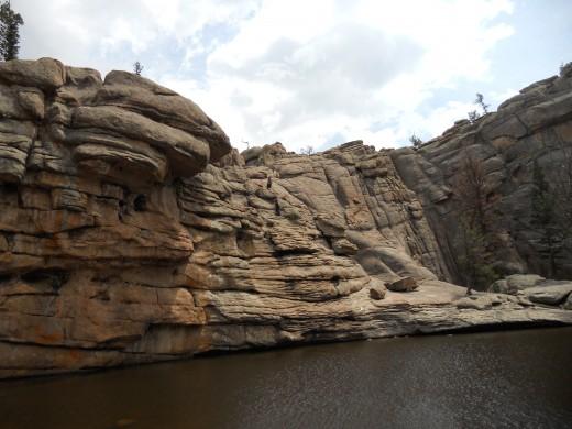 Cliff Walls of Gem Lake