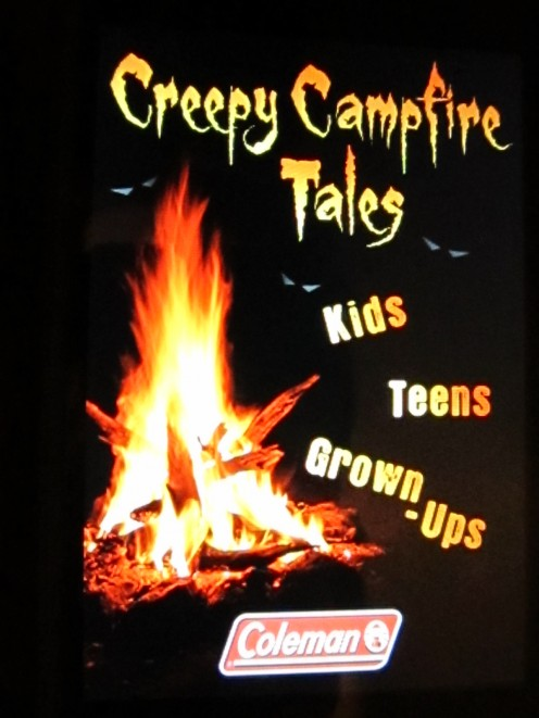 Creepy Campfire Tales is a free app from Coleman