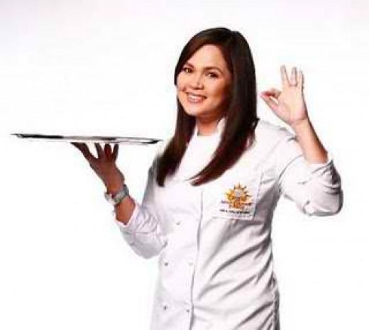 Judy Ann Santos-Agoncillo (Main Host of Junior Master Chef-Pinoy Edition)