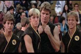 William Zabka and Martin Kove.