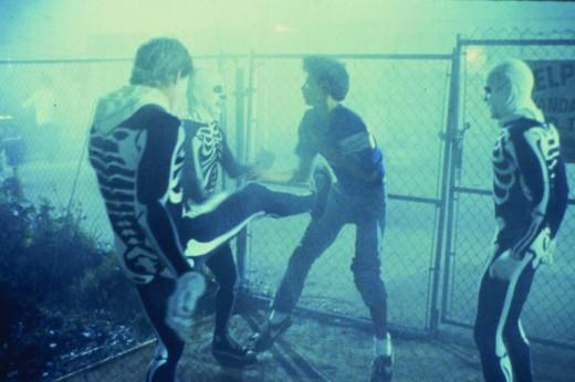Front Kick Jonny!