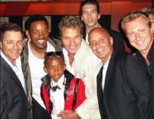 2010 Premier of The Karate Kid.