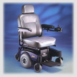 After one year, Dad was able to obtain a wheelchair that was electric.  If your parent needs one and it is manual to begin with, make sure it is the appropriate size for your parent.