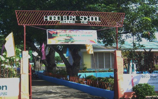 School's Main Gate (Photo by Travel Man)