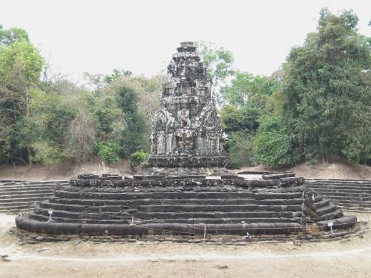Preah Neak Pean, Temples of Angkor, Cambodia