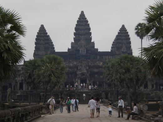 Angkor Wat's Main Entrance, Temples of Angkor, Cambodia