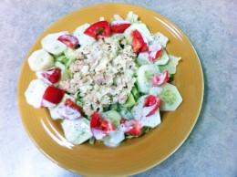 Tuna Salad Salad
